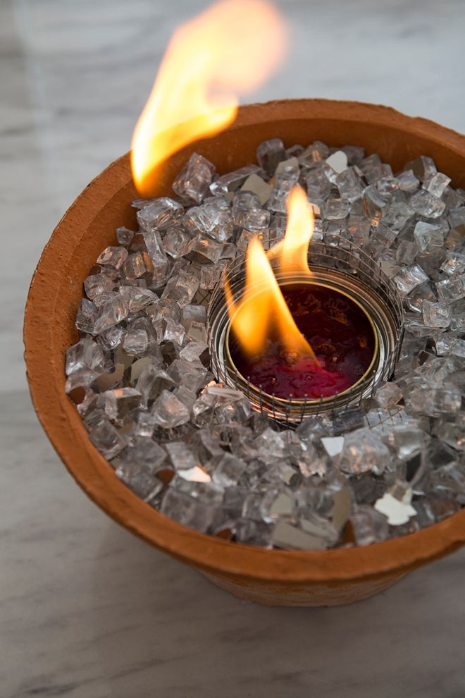 You HAVE To See These DIY, Non-Toxic Table Top Fire Pits ...