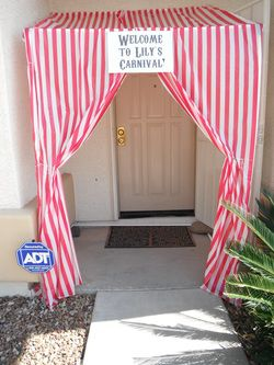 Circus party ideas - she spent 100 dollars! I need to try