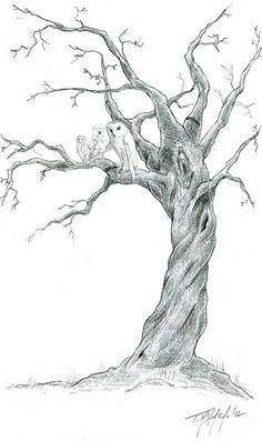 End Of Battle Drawing Tree Drawing Trees Art Drawing Dead Tree Tattoo