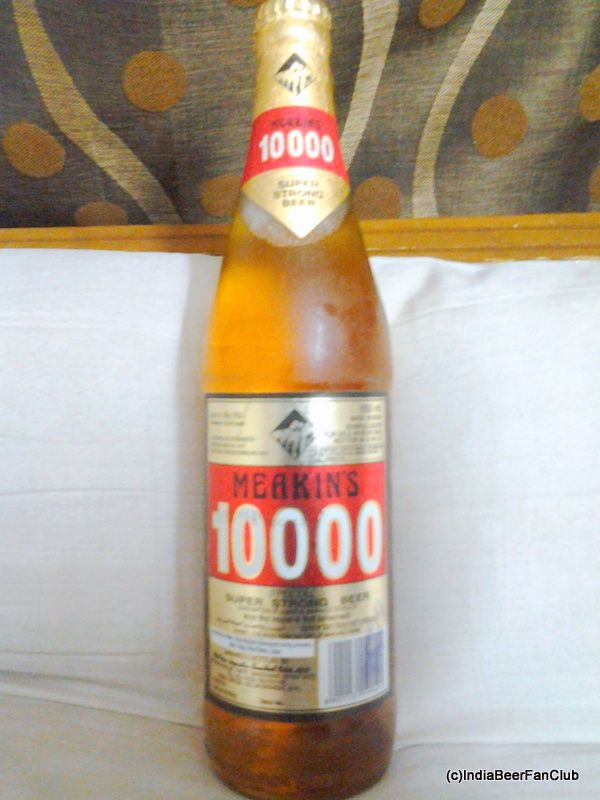 Meakins 10000 Super Strong Beer From Our Mohan Meakin Brewery With