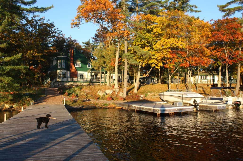 http://www.cottagecountry.com/listings/202341/ Autumn in Muskoka's Cottage Country! Perfect...