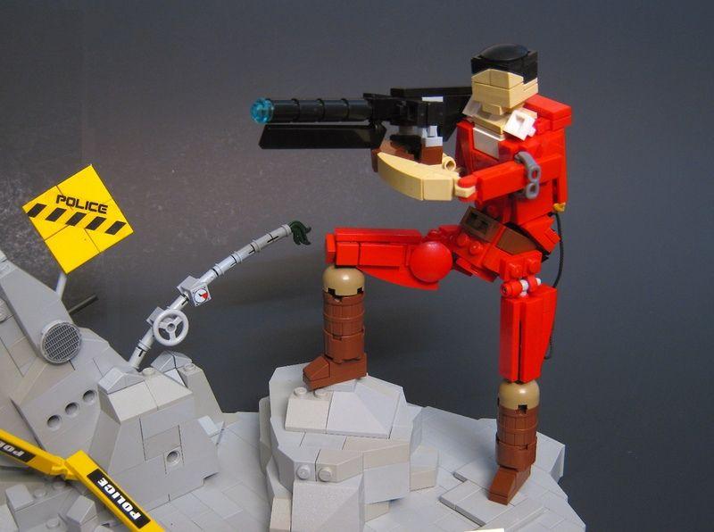 Super Punch: Lego Akira diorama | simply bad ass | Pinterest | Lego