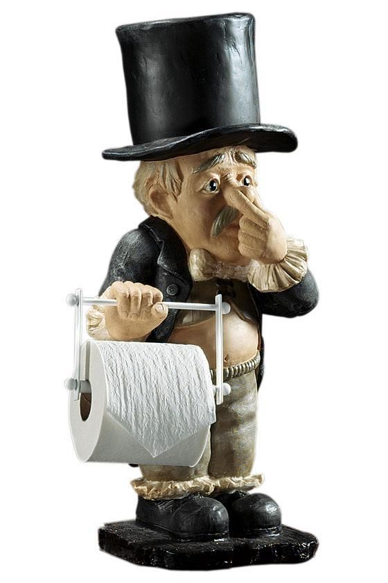 This Is Just To Cute To Ignore Mmmm Where Would He Fit And Be Handy Funny Toilet Paper Holder Diy Toilet Paper Holder Toilet Paper Holder