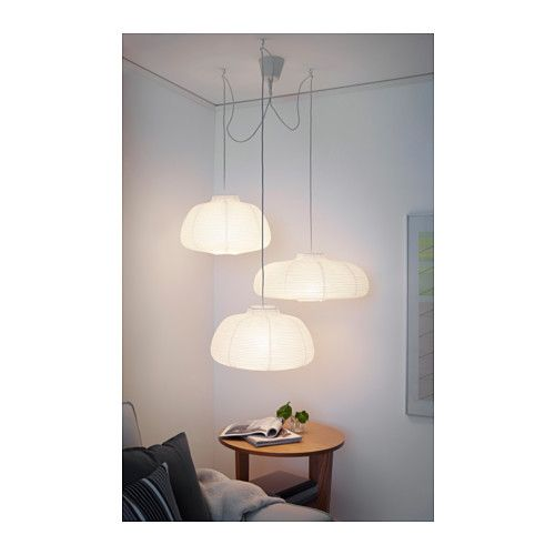 Hemma set suspension triple ikea luminaires oh my for Luminaire triple suspension