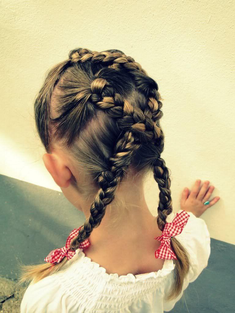 hair style for a little girl: indian princess hairdo
