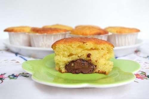 Ricette Dolcetti Muffin yogurt e nutella