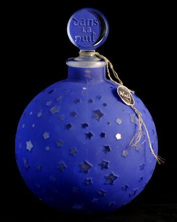 rene lalique a large scent bottle dans la nuit for worth paris