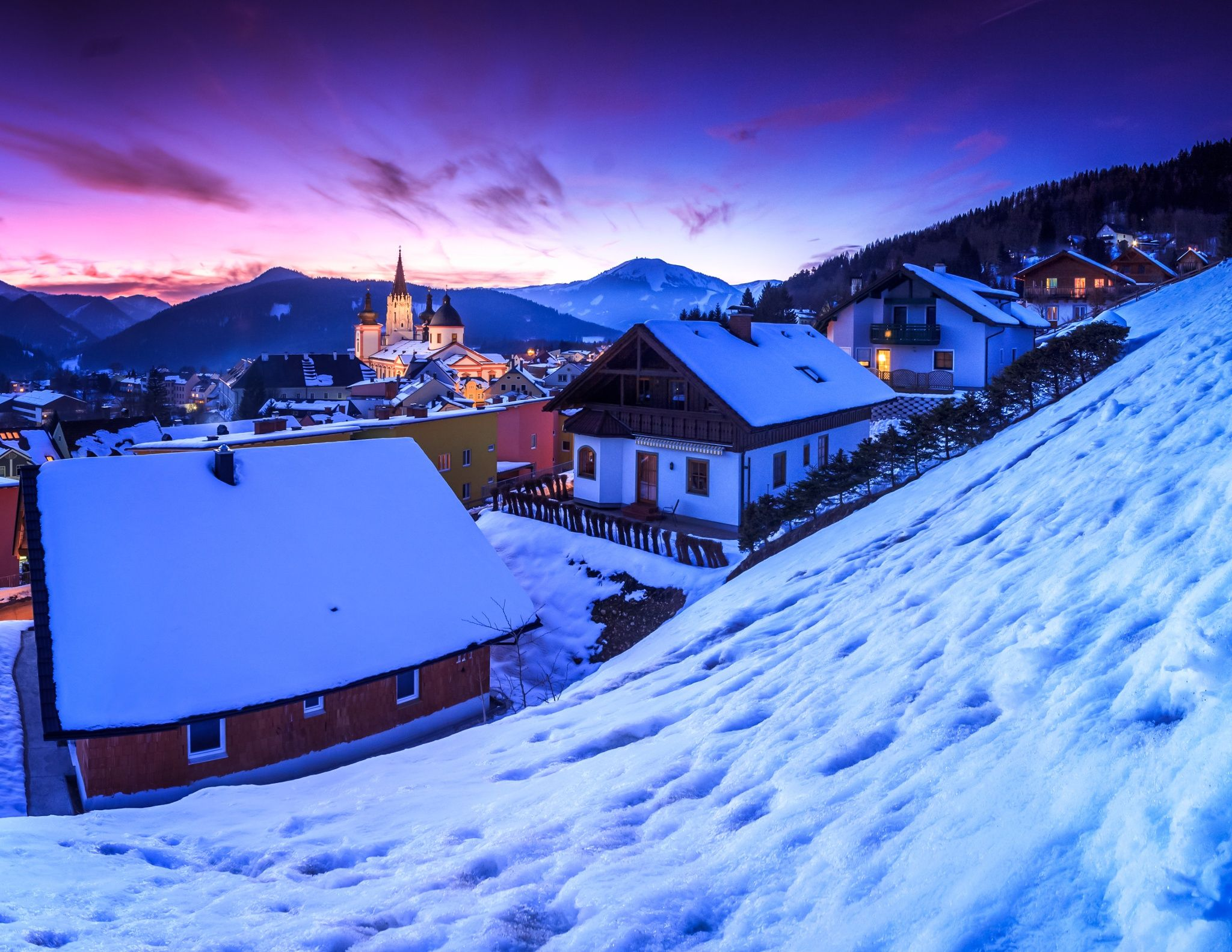 Mariazell by Zoltan Duray / 500px
