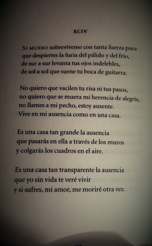 Pablo Nerudacien Sonetos De Amorsoneto Sonetos De Amor