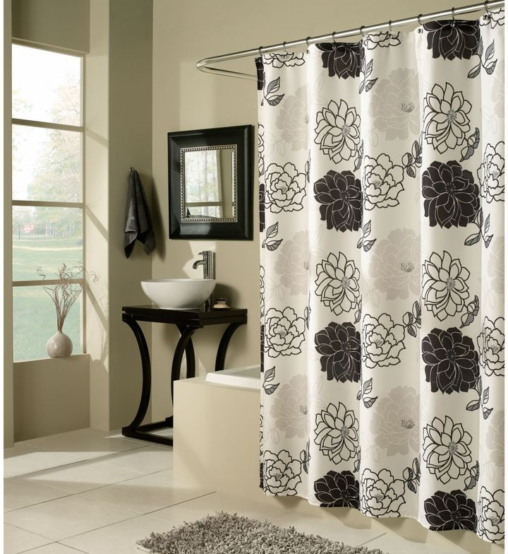 M. Style Summer Garden 70 Inch X 72 Inch Shower Curtain
