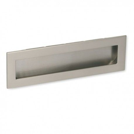 Poignee De Meuble Look Inox Cuvette Rectangle Poignee Meuble