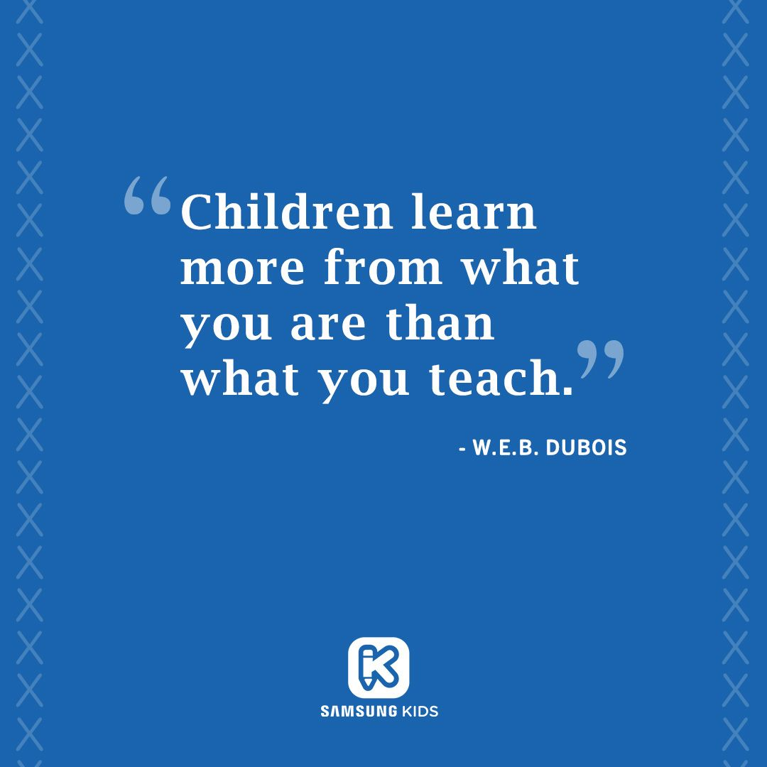 Children learn from who we are kids learning learning