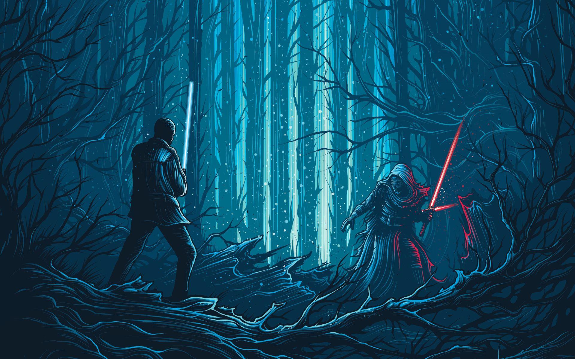Star Wars Episode Vii The Force Awakens Wallpaper 092 Gambar Seni