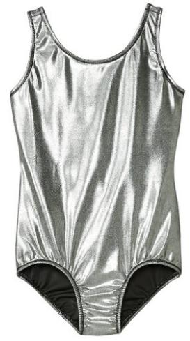 1e9a0883c Loving this metallic silver gymnastics leotard!