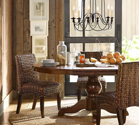 Seagrass Side Chair  Dining Chairs  Pinterest  Pedestal Dining Awesome Side Chairs Dining Room Review