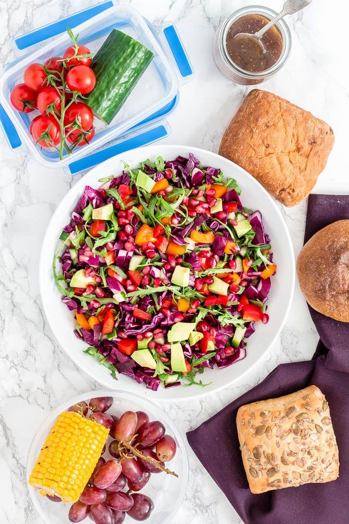 rainbow salad recipes-22 | Recipes From A Pantry