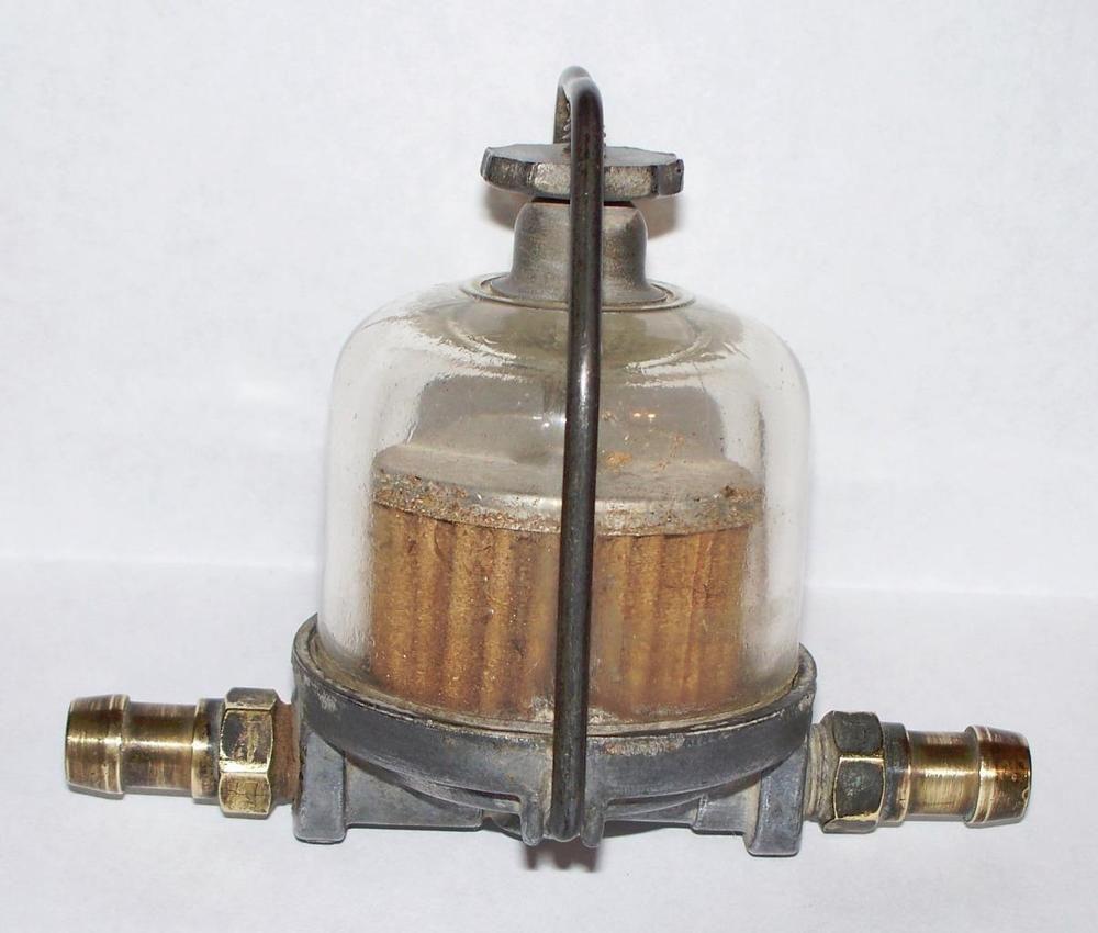 Vintage Ac Glass Bowl Fuel Filter 854392 For 53 65 Chevy Corvette