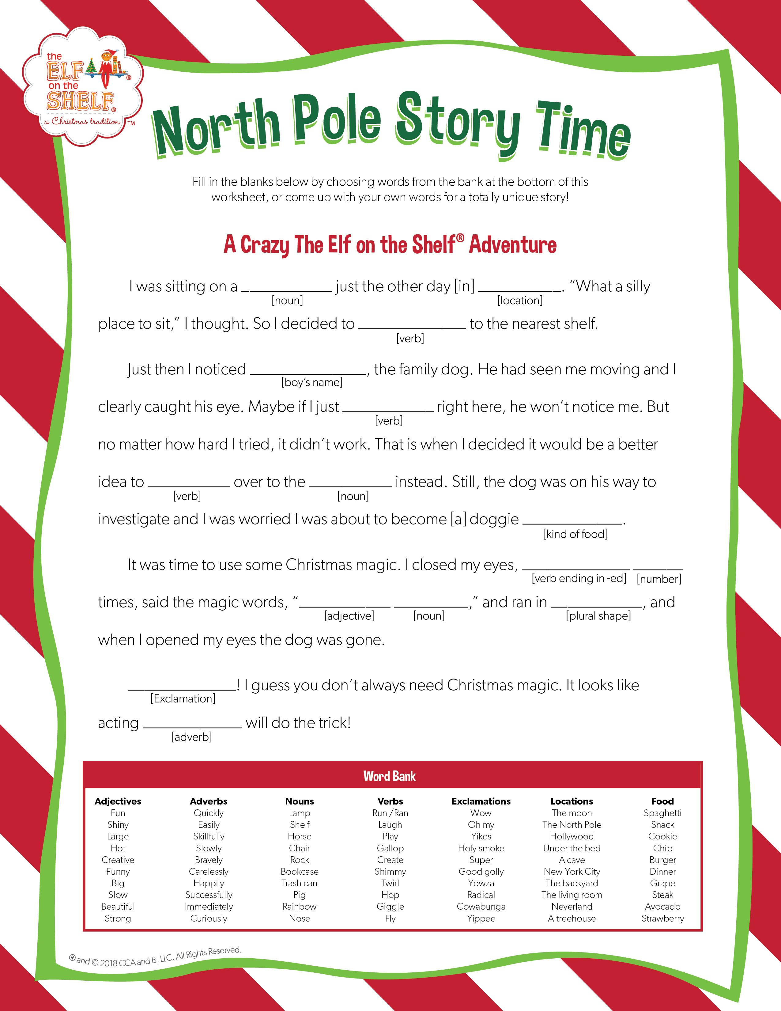 Family Story Time Activities