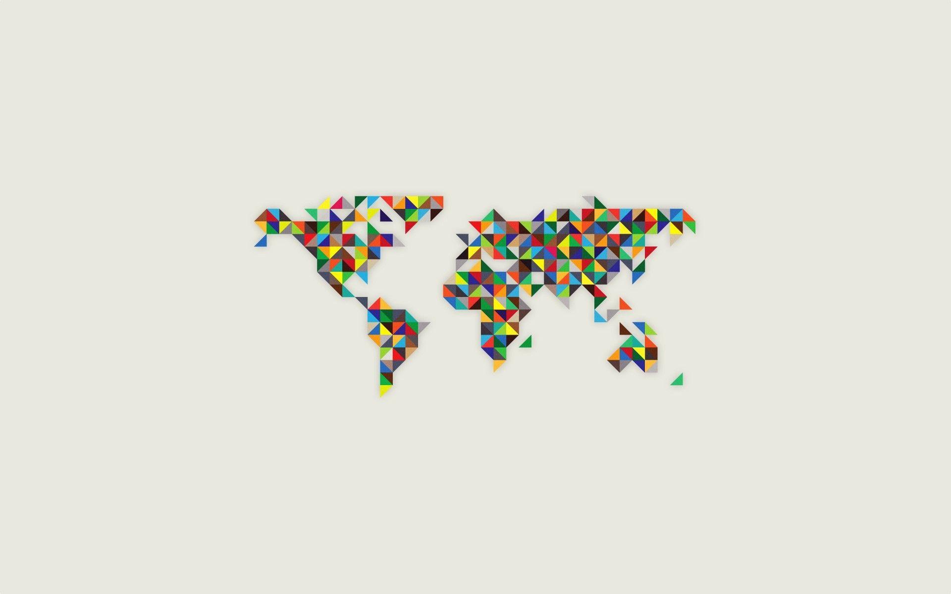 Minimalistic world earth maps world map colors 1920x1200 wallpaper minimalistic world earth maps world map colors 1920x1200 wallpaper gumiabroncs Choice Image