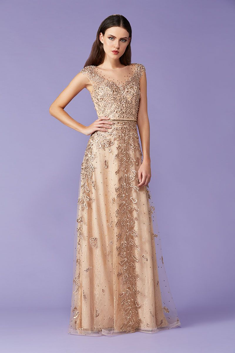 7b8dbd5c7 Tule Bordado: o queridinho das madrinhas | Couture | Vestido de ...