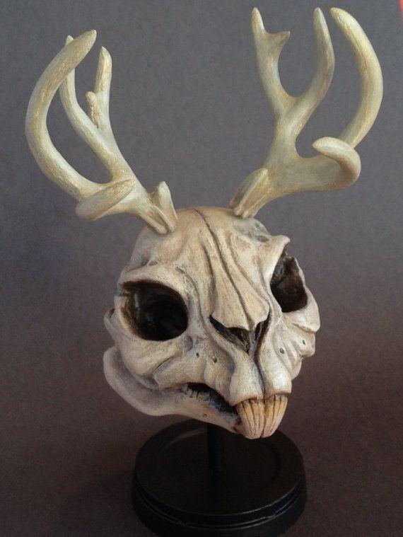 Jackalope Resin Skull Limited Edition Collectible by Macsorro