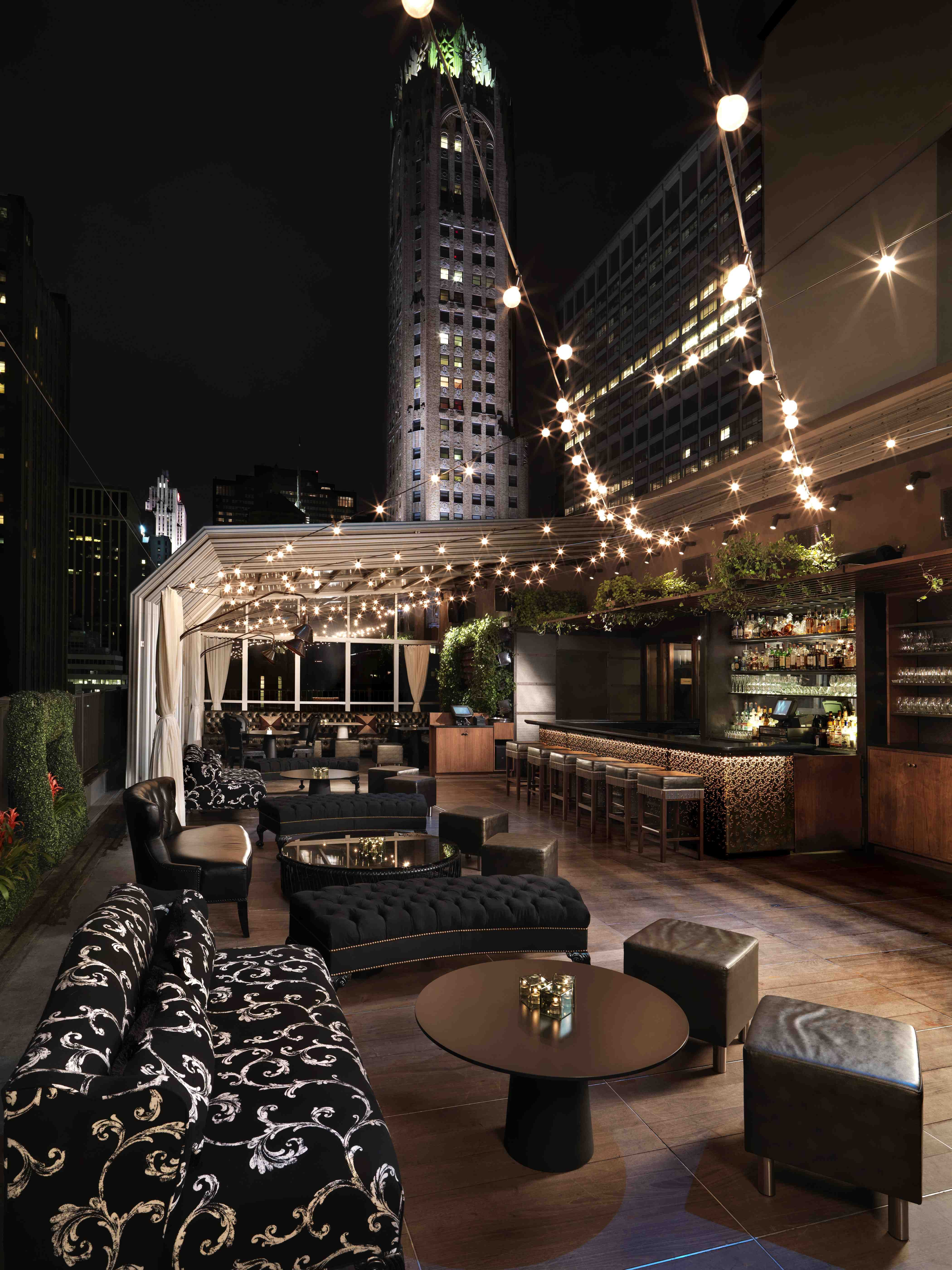 Kimberly Hotel Rooftop Bar New York