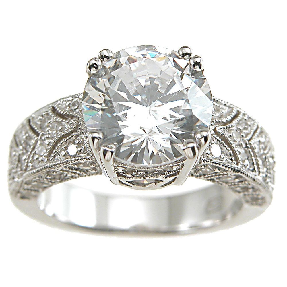 how to clean cubic zirconia sterling silver rings