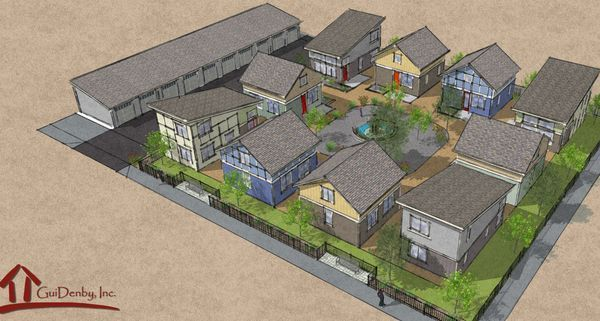 Learn About Plans For The Tiny Ten Housing Community Tiny House Community Tiny House Village Small House Communities