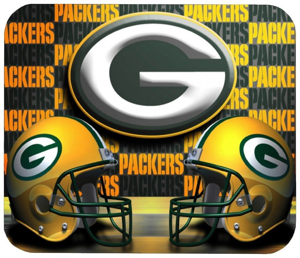 13 99 Green Bay Packers Mouse Pad 1 4 In Sports Football Nfl Mousepad Ebay Elec Green Bay Packers Team Green Bay Packers Wallpaper Green Bay Packers Logo