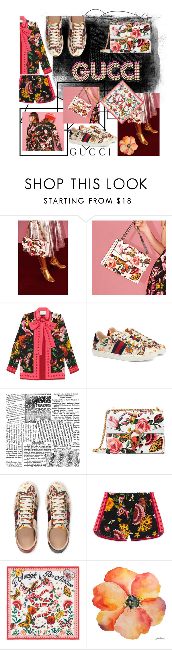 """""""LIKEEE LIKEEE LIKEEE❤"""" by shafsnizzler ❤ liked on Polyvore featuring Gucci"""