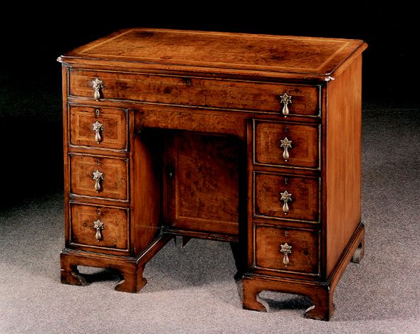 Replica Antique Office Furniture Writing Desk by Philip Hunt - Antique Furniture Pieces Despite Being Crafted Several Centuries Ago