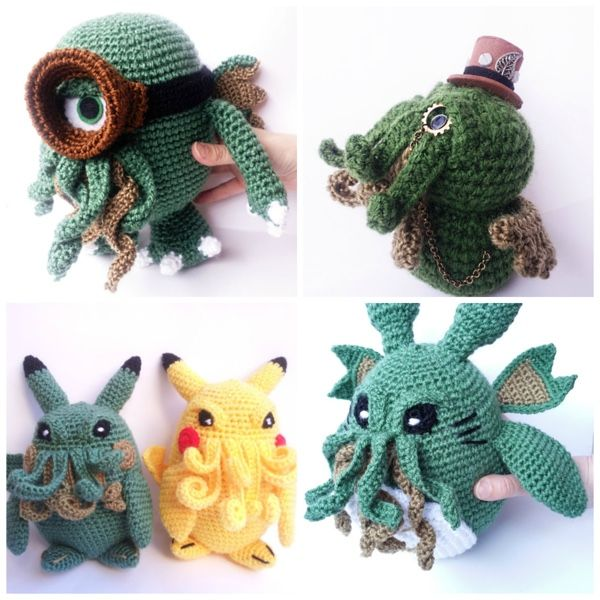 Cthulhu Minions And Pokemon Team Up To Steal Your Soul | Cool stuff ...