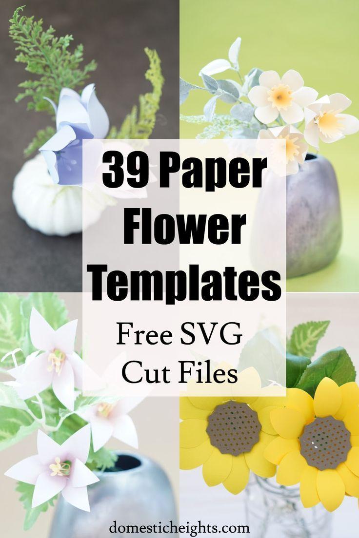 Paper Flower Bouquets #constructionpaperflowers