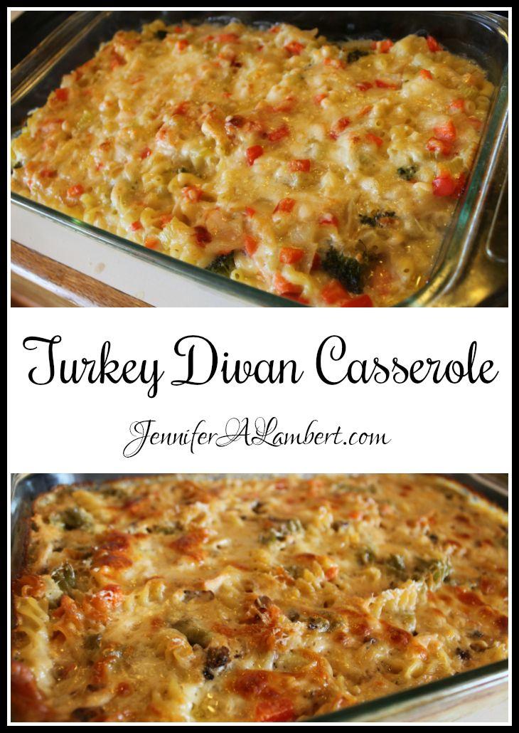 Homemade Turkey Divan Casserole