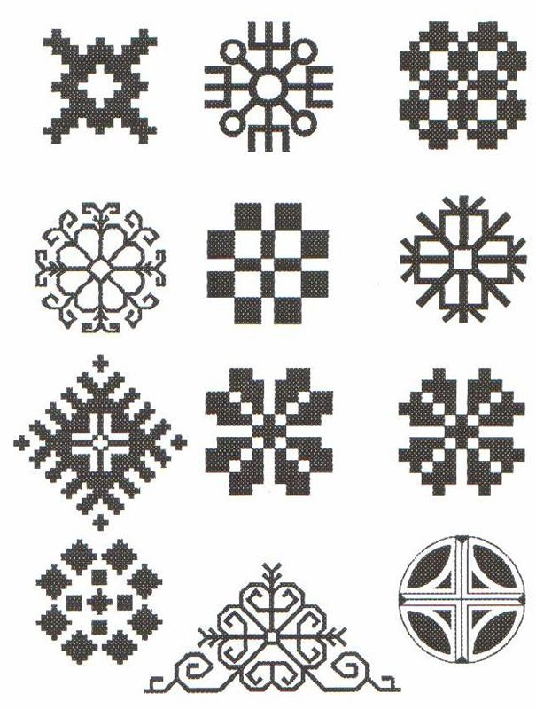 Latvian Symbols Of The Sun Goddess Latvju Raksti Pinterest