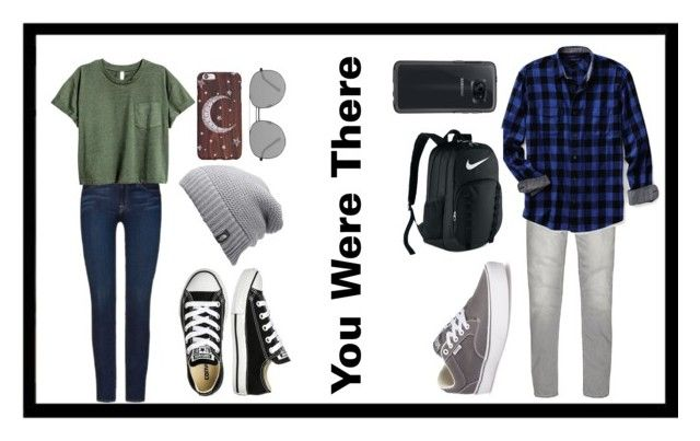 """You Were There---READ DESCRIPTION!!!"" by basilisk-venom ❤ liked on Polyvore featuring 7 For All Mankind, Converse, The North Face, Elizabeth and James, River Island, Lands' End, Vans, NIKE and OtterBox"