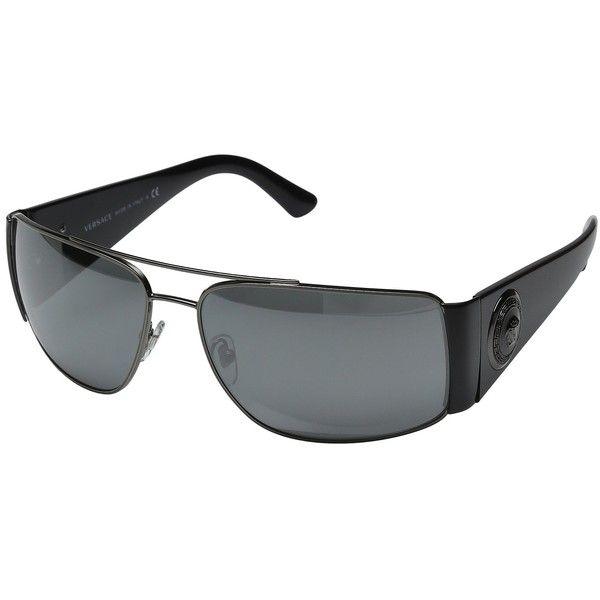 aec5ece192f Versace VE2163 (Anthracite Grey Mirror Silver) Fashion Sunglasses (315 CAD)  ❤