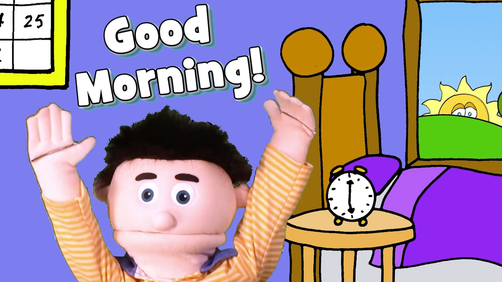 A Fun And Energetic Good Morning Song With Actions To