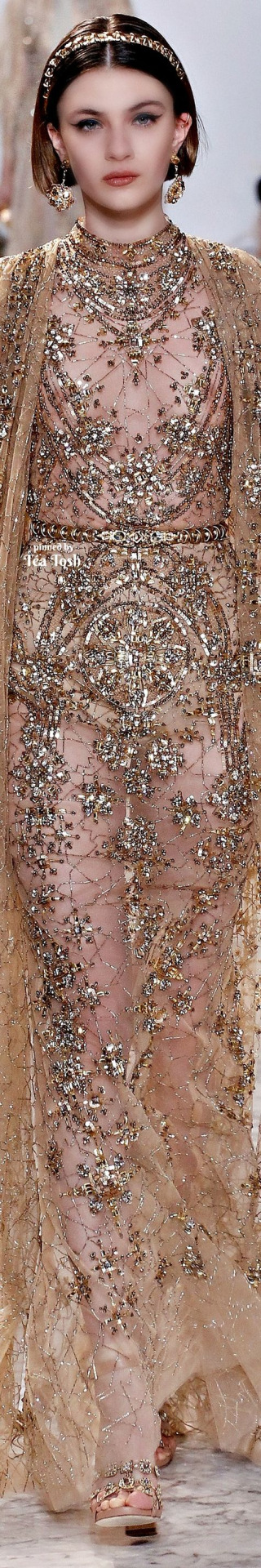 ❇Téa Tosh❇ Elie Saab, Spring 2017, Couture