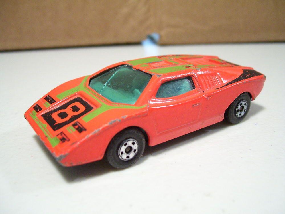 Vintage Matchbox Superfast Lamborghini Countach No 27 Diecast 1973