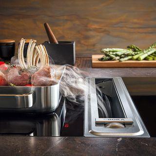 Dunstabzug Nach Unten der dunstabzug nach unten bora com küche kitchens