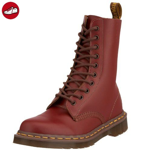 b9a9acceae47 Dr Martens Unisex 1490 Oxblood (Vintage Made In England Range) 10 Eye Leather  Boots