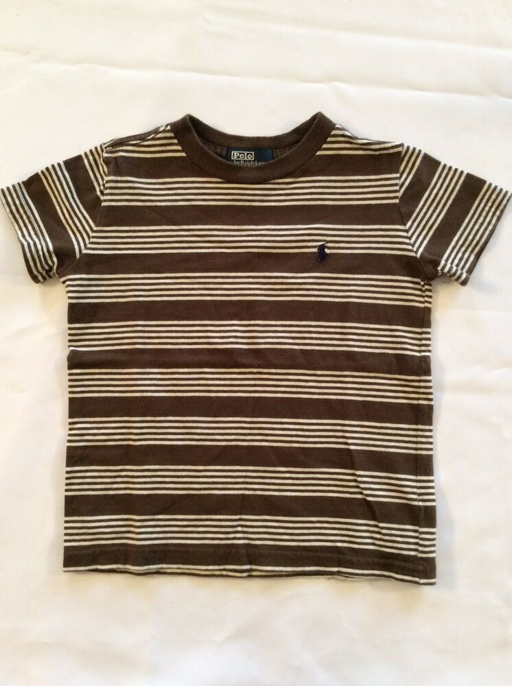 d0ca56d41b9536 POLO RALPH LAUREN Boys POLO T Shirt Size 4   4T Short sleeve striped POLO  shirt  fashion  clothing  shoes  accessories  babytoddlerclothing ...