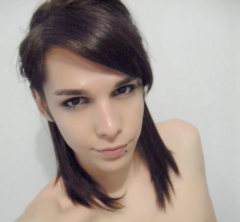 pin hair styles androgynous