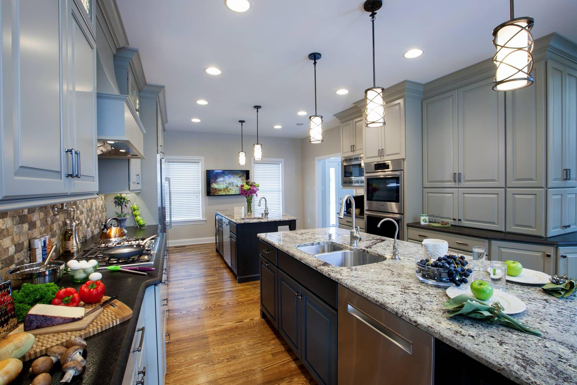 Harrisburg-pa-grey-kitchen-cabinets-8920 | travel | Pinterest | Grey ...
