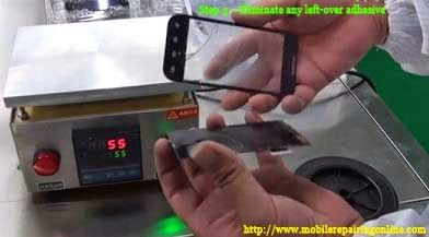 How to Replace Only the Glass touch panel lcd on the Smartphones #touchpanel