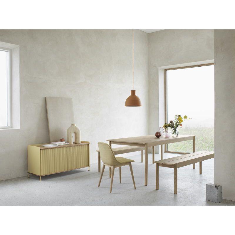 Muuto Linear Wood Table 200 X 90 Cm Oak Minimalist Furniture