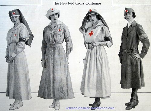 1917 American Red Cross Uniforms Women S Uniforms Vintage Nurse Red Cross