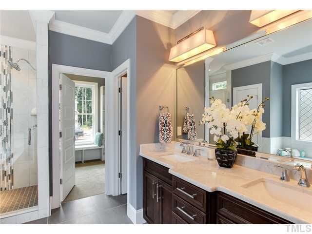 Unique Lighting It Master Bathroom Double Sinks With