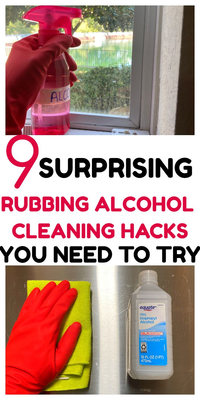 9 SURPRISING WAYS YOU CAN USE RUBBING ALCOHOL TO CLEAN